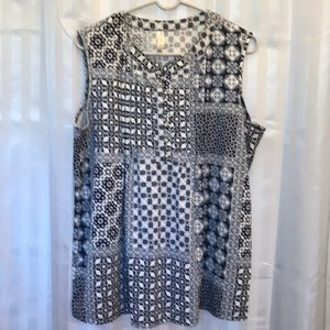 PerSeption Concepts Woman's sleeveless size XL top